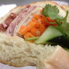 Photo taken at Saigon Vietnamese Sandwich Deli by Danny T. on 4/11/2013