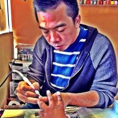 Photo taken at Generation Nails by PANDA K. on 6/11/2013