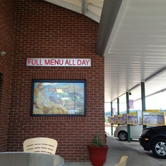 Photo taken at SONIC Drive In by Paige C. on 8/6/2013