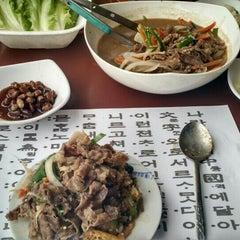 Photo taken at Huwon Restaurante Coreano by Fernando P. on 6/21/2015