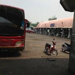 Photo taken at Terminal Bas Bentayan Muar by ben _. on 7/22/2013