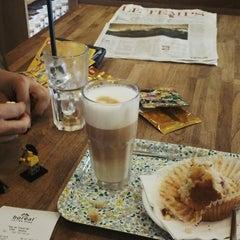 Photo taken at Boréal Coffee Shop by Umut M. on 7/8/2013