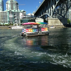 Photo taken at Aquabus Hornby St. Dock by Outreach T. on 7/16/2013