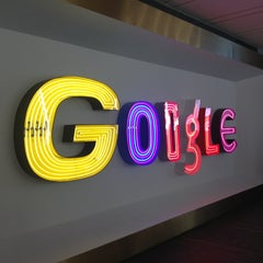 Photo taken at Google New York by Perri F. on 7/24/2013