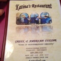 Photo taken at Katina's Restaurant by Csani S. on 1/4/2013