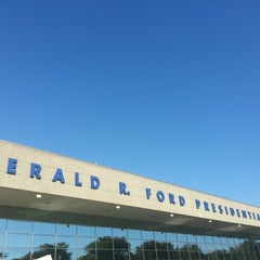 Photo taken at Gerald R. Ford Presidential Museum by Michael T. on 9/14/2012