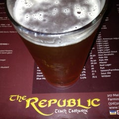 Photo taken at The Republic Pub by Melissa P. on 7/12/2013