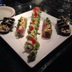 Photo taken at Yosake Downtown Sushi Lounge by Charlie R. on 1/24/2015