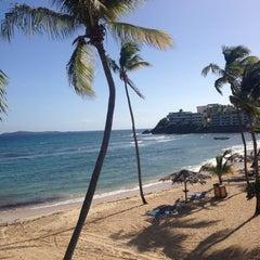 Photo taken at Bolongo Bay Beach Resort by Adrienne W. on 10/28/2013