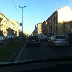 Photo taken at Viale Monza by AndreA D. on 12/12/2012