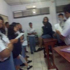 Photo taken at SMA St. Thomas 1 Medan by kim v. on 1/8/2014