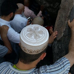 Photo taken at Jabal Nur - Ghar Hira by Şaban Ö. on 6/23/2014