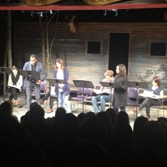Photo taken at Peter Jay Sharp Theater @ Playwrights Horizons by Kate D. on 10/29/2013
