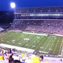 Photo taken at Davis Wade Stadium at Scott Field by John T. on 10/13/2012