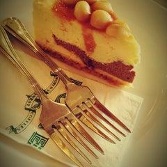 Photo taken at DÔME Café by Amanda T. on 10/27/2012