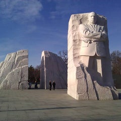 Photo taken at Martin Luther King, Jr. Memorial by Daniel S. on 1/10/2013