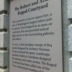 Photo taken at Kogod Courtyard by Armie on 10/8/2012