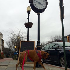 Photo taken at Barracks Row by Armie on 12/26/2015