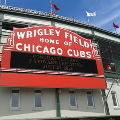 Photo taken at Wrigley Field by Eduardo B. on 7/23/2013