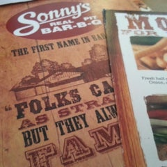 Photo taken at Sonny's BBQ by Jessica K. on 7/26/2013