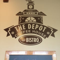 Photo taken at The Depot Coffee House and Bistro by Emily S. on 7/24/2013