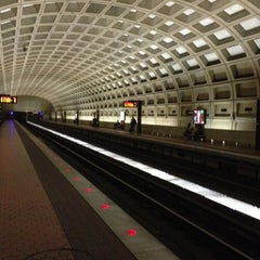 Photo taken at Crystal City Metro Station by Marcos M. on 10/12/2012