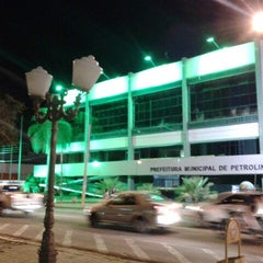 Photo taken at Prefeitura Municipal de Petrolina by Mauro P. on 4/14/2014