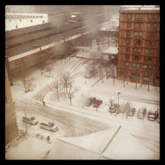 Photo taken at DoubleTree by Hilton Hotel Chicago O'Hare Airport - Rosemont by Jack W. on 2/26/2013