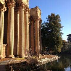 Photo taken at Palace of Fine Arts by Rebecca B. on 1/18/2013