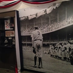 Photo taken at Babe Ruth Birthplace & Museum by Tony C. on 3/23/2014