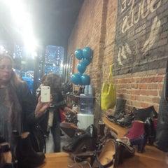 Photo taken at John Fluevog Shoes by Kim E. on 10/25/2013