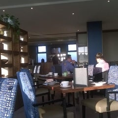 Photo taken at Cork International Airport Hotel by Nazım E. on 9/10/2014