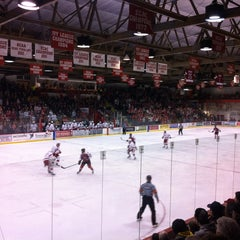 Photo taken at Lynah Rink by Steve M. on 2/23/2013
