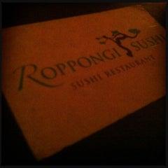Photo taken at Roppongi Sushi Restaurant by m b. on 2/15/2013