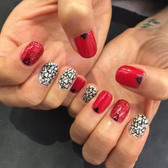 Photo taken at Marie NAILS by Cheryl K. on 7/13/2015