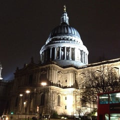 Photo taken at St Paul's Churchyard by Timothy J. on 2/10/2013