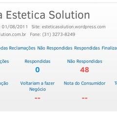 Photo taken at Estética Solution by Jungle F. on 3/11/2014
