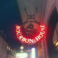 Photo taken at Bourbon House by Regena H. on 3/25/2014
