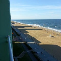 Photo taken at Holiday Inn Va Beach-Oceanside (21st St) by Bill D. on 6/23/2014
