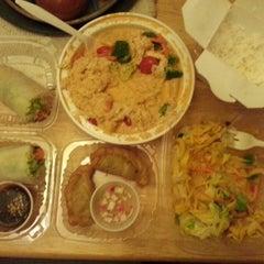 Photo taken at Nahm Thai Kitchen by kelly o. on 8/2/2013