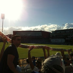 Photo taken at Emirates Old Trafford by Carl J. on 8/2/2013