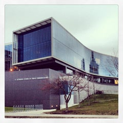 Photo taken at S.I. Newhouse School of Public Communications by Kevin M. on 1/15/2013