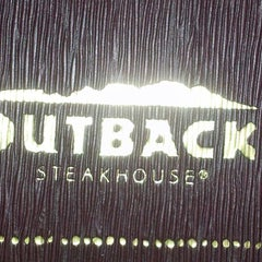 Photo taken at Outback Steakhouse by Alex A. on 9/10/2013