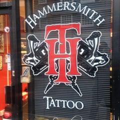 Photo taken at Hammersmith Tattoo by Hammersmith T. on 10/29/2013