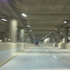 Photo taken at Lower Wacker Drive by Kate H. on 12/1/2012