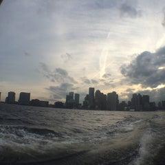 Photo taken at Boston Harbor Water Taxi by Sashok Z. on 4/8/2014