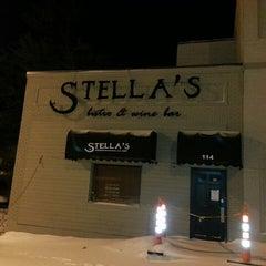 Photo taken at Stella's by Matt S. on 1/17/2014