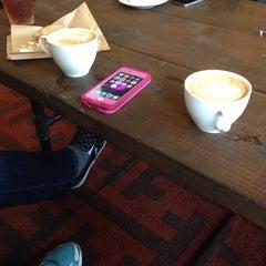 Photo taken at Origin Coffee & Tea by Hana B. on 2/8/2015