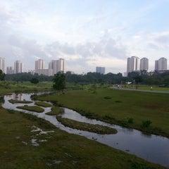Photo taken at Bishan - Ang Mo Kio Park by CK A. on 12/15/2012