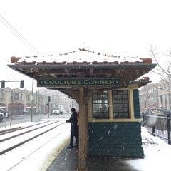 Photo taken at Coolidge Corner by Shawn P. on 3/24/2015